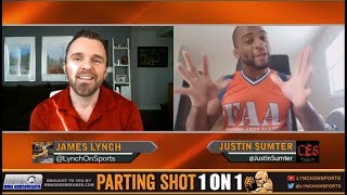 Justin Sumter CES 46 matchup, training with Nick Newell and working as an engineer