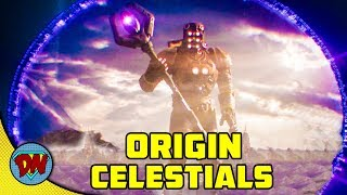 Who are Celestials   Marvel Character   Explained in Hindi
