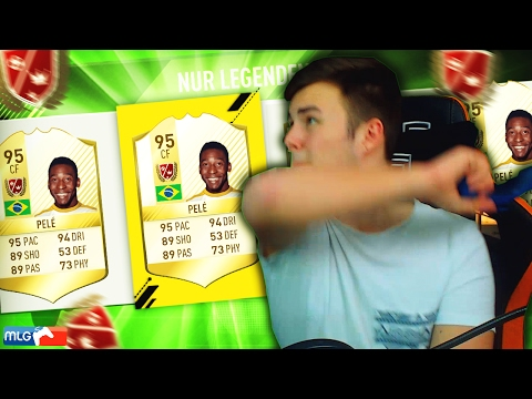 FIFA 17: *CONTROLLER SMASH* PELE FUT DRAFT! ULTIMATE TEAM DEUTSCH