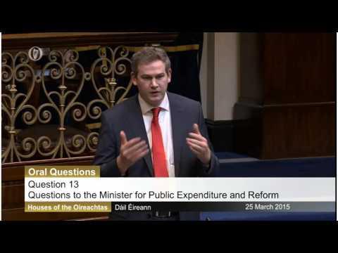 Seán Kyne speaking in Dáil on coastal & flood defence works