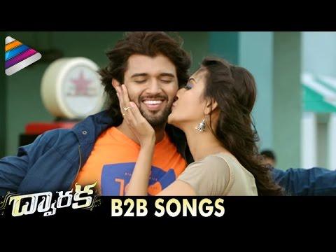 DWARAKA Latest Telugu Movie Songs   B2B Video Song Trailers   Vijay Devarakonda   Pooja Jhaveri