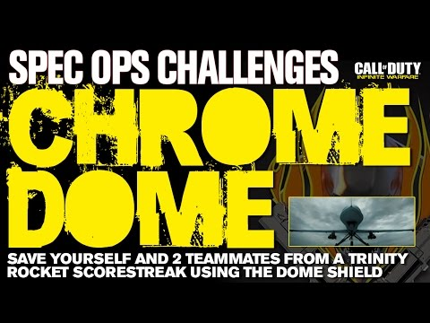 New Spec Ops Challenge Discovered: Chrome Dome - How To Do The Chrome Dome Challenge