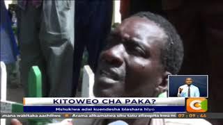 Jamaa afumaniwa akichinja paka Nakuru