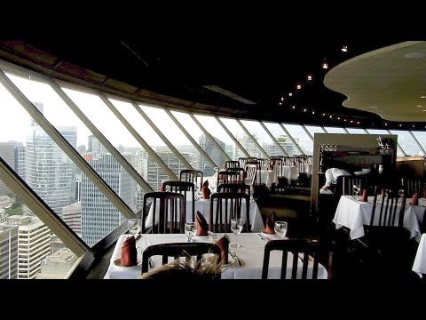 Vancouver Lookout Tower Restaurant - Top Of Vancouver Revolving Restaurant