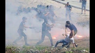 Поліція проти Нацкорпусу. Момент зіткнення. Екопарк Осокорки 28.07.2018