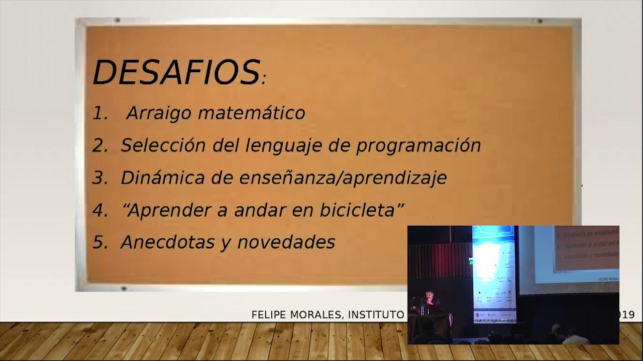 Image from El desafío de enseñar Python a nivel universitario, por Felipe Morales