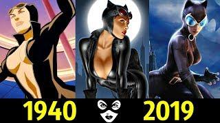 💥 Женщина-Кошка - Эволюция (1940 - 2019) ! Все появления Селины Кайлы 🔥!