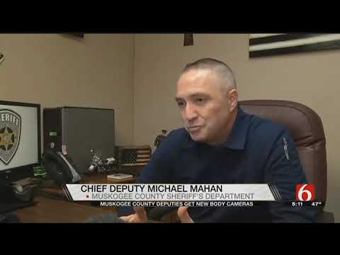 Muskogee County Deputies Now Equipped With Body Cameras