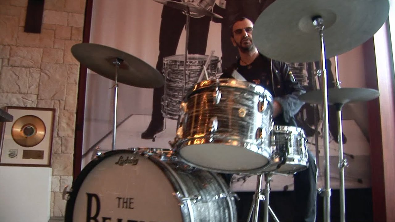 The Beatles' drum kit, used by Ringo Starr, is going on ... |Ringo Starr Drums