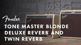 Tone Master Blonde Deluxe Reverb & Twin Reverb | Tone Master Series | Fender