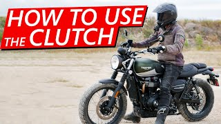 How to Use tнe Clutch on a Motorcycle! (Learn Fast!)