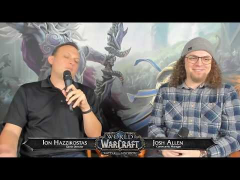Live Developer Q&A with Ion Hazzikostas 10/11/2018