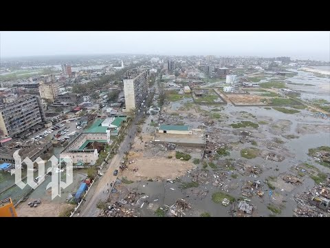 View the destruction from Cyclone Idai in Mozambique