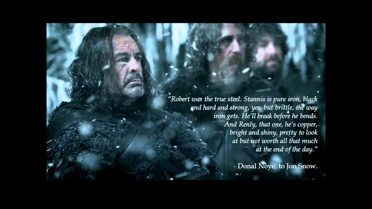 Quotes About Stannis Baratheon Woodkid  Iron YouTube