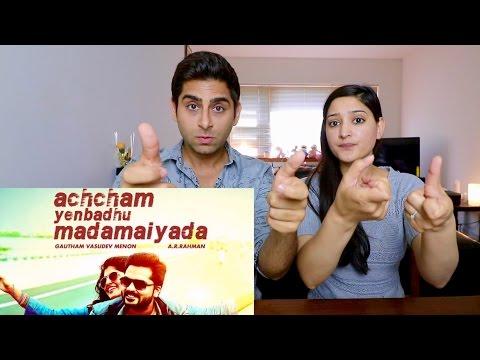 ACHCHAM YENBADHU MADAMAIYADA TRAILER REACTION  | A R RAHMAN | STR | GAUTHAM MENON