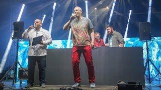 Wiceprezydent Maciej Kleczkowski przed gwiazdą wieczoru DJ C-BooL