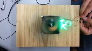 LED Propellor Clock Microcomputer Systems 1