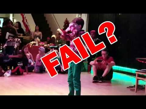 Performance fail?  Flossing masterpiece?  You decide!  Merrick!