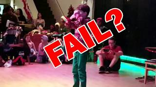 Performance fail?  Flossing masterpiece?  You decide!  Merrick!