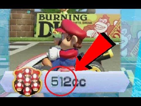 Mario Kart 8 Deluxe HACKING 512cc