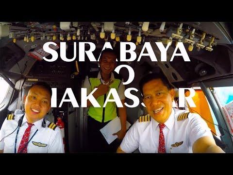 Cockpit View - from Surabaya to Makassar