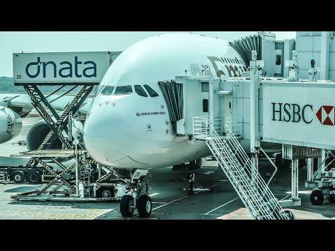 TRIP REPORT | Emirates | Airbus A380 | Dubai - Singapore | Economy Class