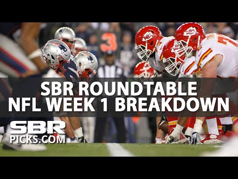 SBR Roundtable Discussion | NFL Week 1 Breakdown