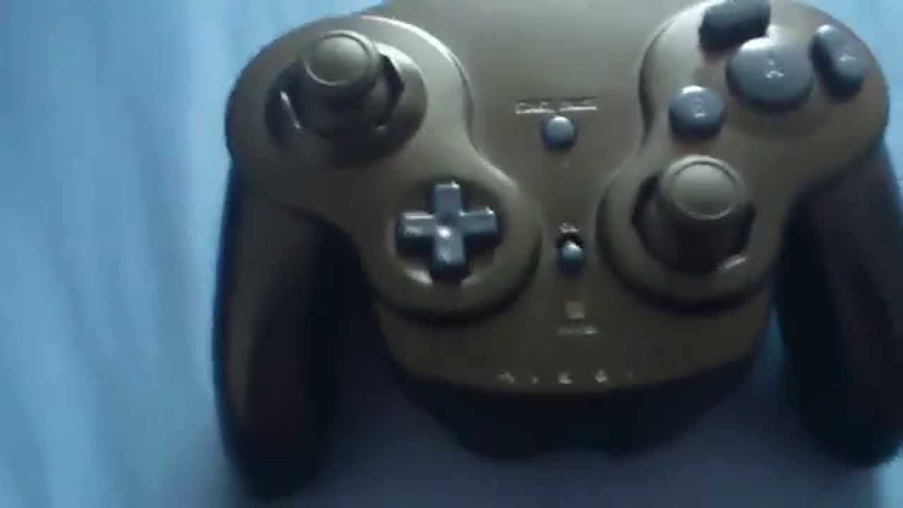 Modded Wavebird wireless Gamecube controller