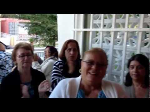 PARRANDA NAVIDEÑA EN CASA DE MR. LÓPEZ , JAYUYA, PUERTO RICO.