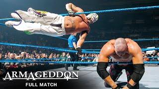 FULL MATCH - Batista  Rey Mysterio vs. Kane  Big Show WWE Armageddon 2005