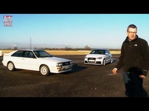 Audi A1 quattro vs original Audi Quattro - Auto Express
