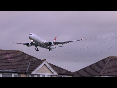 Aircraft Appears Out of Nowhere at London Heathrow airport