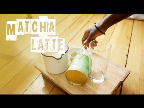 Recette Minute - Comment préparer le Matcha Latte? Thé vert et lait de soja
