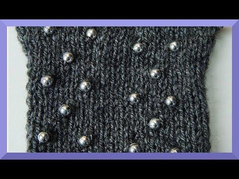 PERLEN EINSTRICKEN ANLEITUNG – Wie strickt man Perlen ein ?