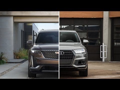 2020 Cadillac XT6 Vs. 2018 Audi Q7