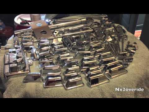 Cleaning Drum Hardware - Drum Kit Referb & Rebuild Part 2
