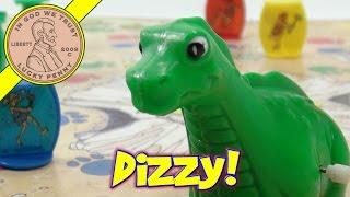 Dizzy Dizzy Dinosaur Game #9100, 1987 Pressman Toys