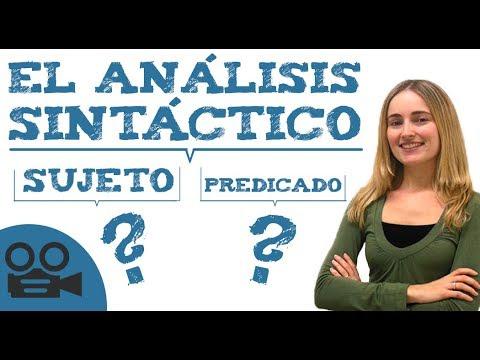 El análisis sintáctico de una oraciónиз YouTube · Длительность: 13 мин20 с