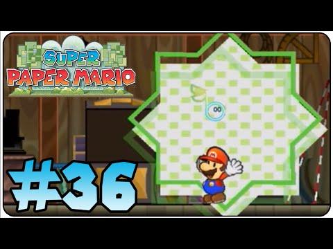 Super Paper Mario Walkthrough Part 36 Hidden Pixels Typtron & Piccolo
