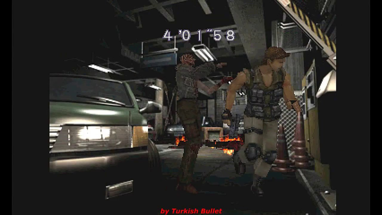 Resident Evil 3 Nemesis Playstation Longplay Carlos Oliveira