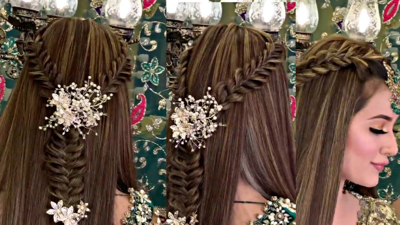 Kashees inspired Hairstyle | hairstyle for medium to long hair|Easy hairstyles for girls 2020 ...