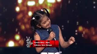 Aarohi Roy Performs On Ab Ke Sajan Sawan Mein | The Voice India Kids | Episode 8