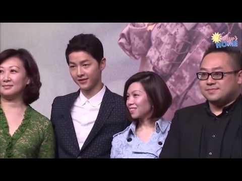 [Vietsub] Song Joong Ki & Song Hye Kyo - Họp báo Hong Kong