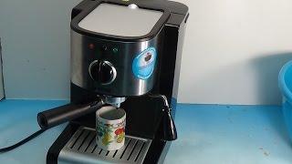 Vitek VT 1513 устройство разборка мелкий ремонт(Рассказал о принципах работы кофеварки, особенностях конструкции и устранении неисправности трубки., 2016-02-05T13:02:08.000Z)