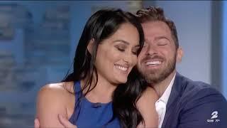 Artem Chigvintsev & Nikki Bella Co-Host ET 09/25/2019