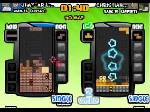 Tetris Battle 2P on Facebook