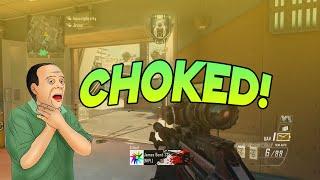 BIGGEST CHOKE EVER (Sick BO2 Clip) #RedRC