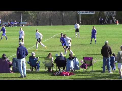 Lebanon, NH Boys Varsity Soccer v. Manchester 10/15/16