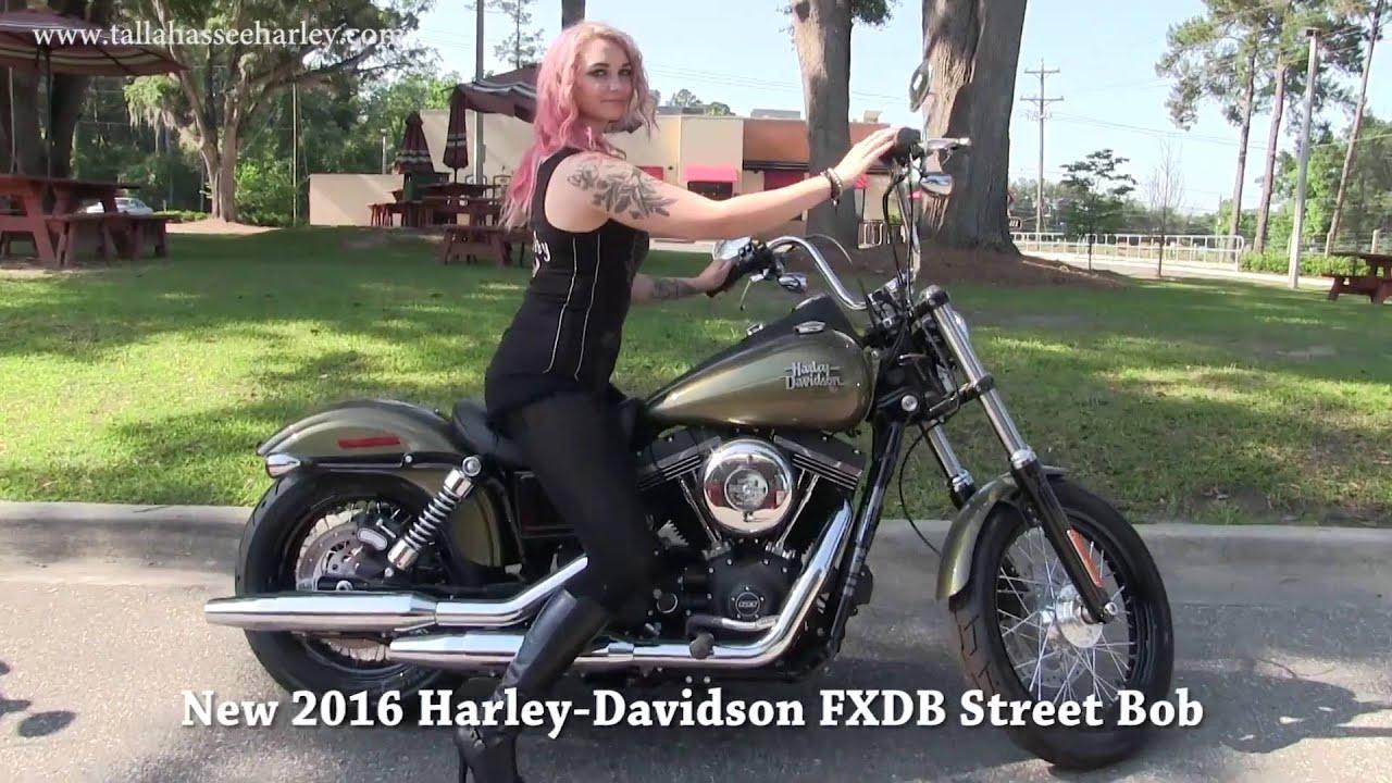 2016 Harley Davidson Fxdb Custom Dyna Street Bob: 2016 FXDB Harley Davidson Street Bob Motorcycle