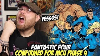 Fantastic Four Confirmed for Phase 4 in the MCU!!!!